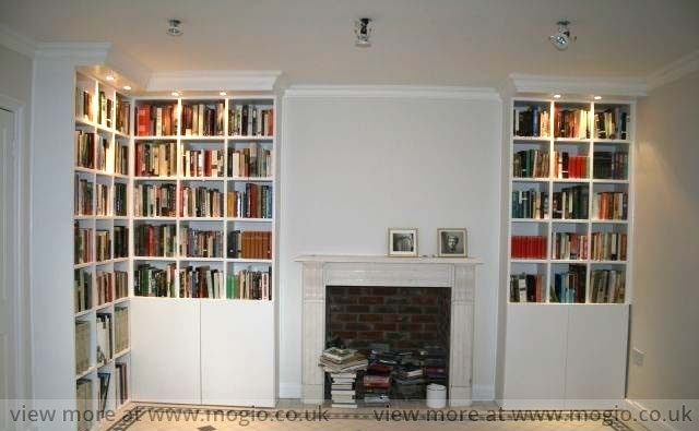 Books-Alcove Shelves