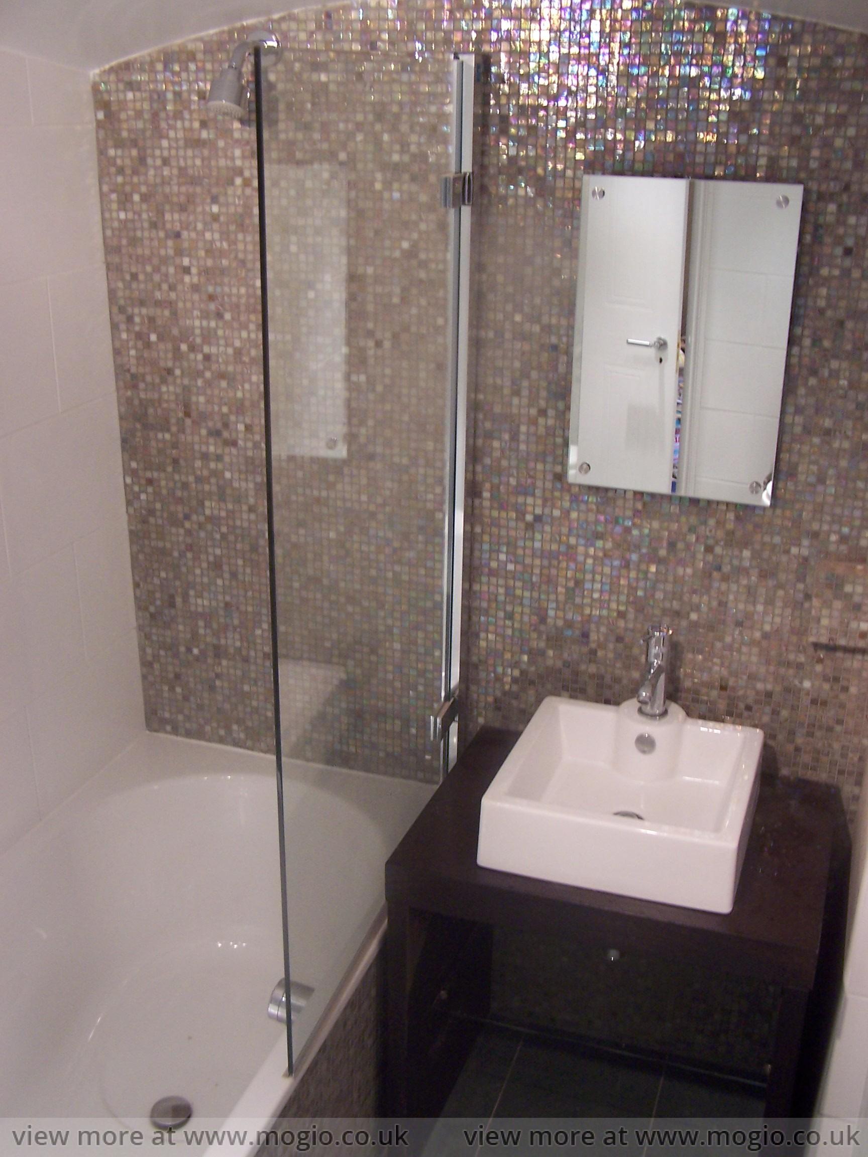 Sparkling Mosaic The Optimal Budget Wet Rooms Bathrooms