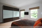 Ample sized second bedroom