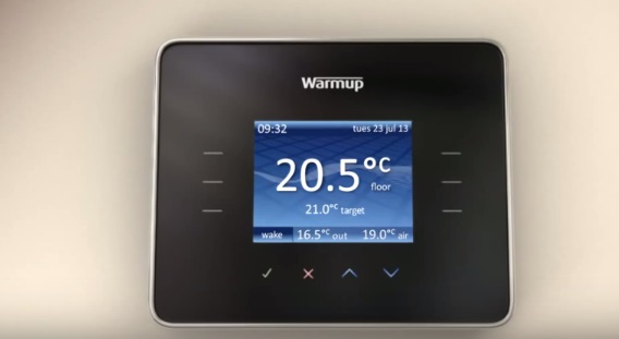thermostat heating